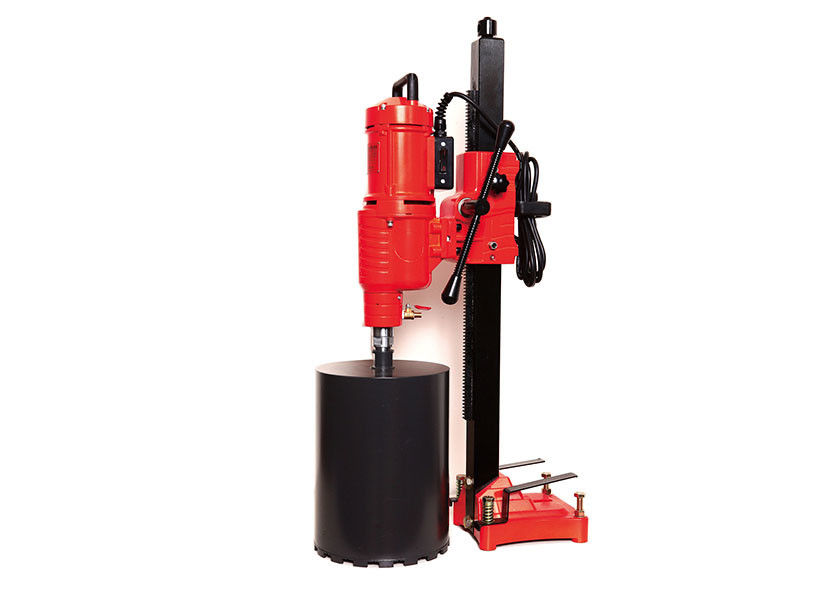 Building Construction 250 Mm Diamond Core Drilling Machine High Efficiency