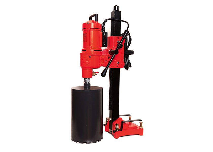 Rocks Ceramics 780 RPM Diamond Core Drilling Machine For 180 Mm Hole Drilling