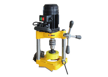 China 110 RPM Hole Cutting Machine Portable For Max 114 Mm In Diameter Hole Saw Machine factory