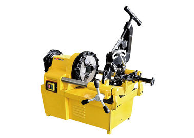 China Portable Electric Pipe Threading Machine Cam Action 25 RPM Spindle Speed factory