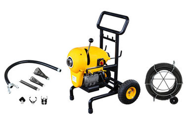 Portable Electric Drain Cleaning Machine with Wheels Can Clean 50 m