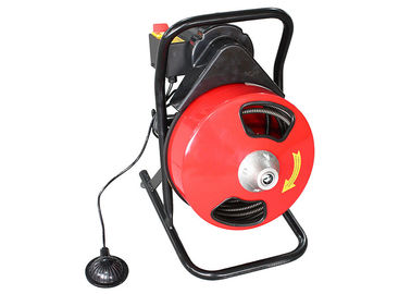 Hongli 300F Drum Machine Drain Cleaner With Foot Switch / 250W Motor