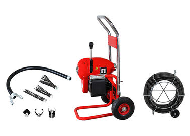 Vertical Electric Drain Cleaning Machine Portable With Wheels