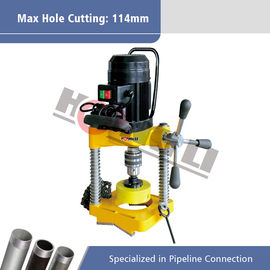Portable Hole Cutting Machine for Cutting For Metal Pipe 550W