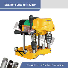 "Electric Pipe Hole Cutting Machine for 6""(152mm) Steel Pipes Hongli JK150"