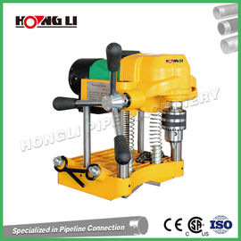 Yellow Power Mini Pipe Hole Saw Cutting Machine 1500W Hongli JK150